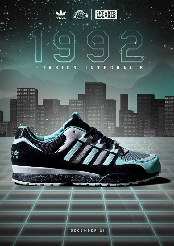 Scarpe da ginnastica sgorbio x adidas consorzio torsione integrale s