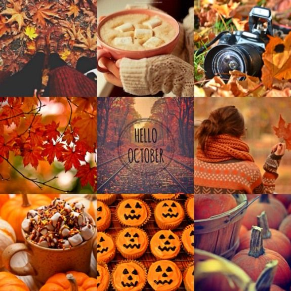 New day, new month, new season! Welcome, october