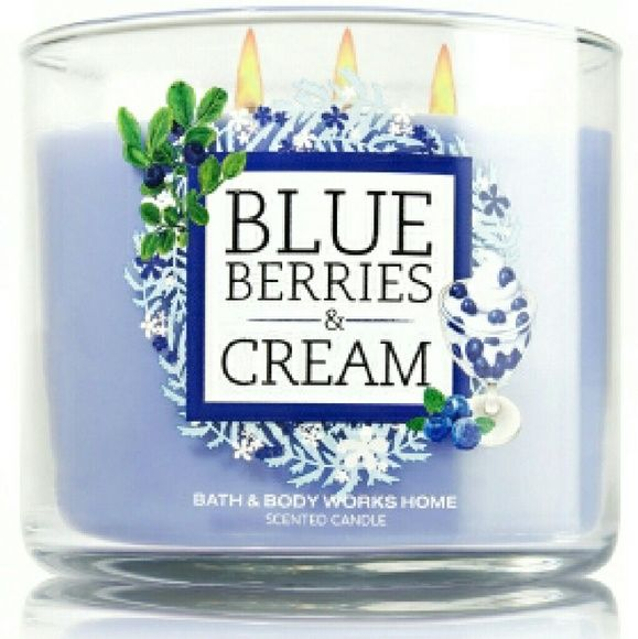 Blueberries & Cream Bath & Body Works Candle Willing to negotiate and/or bundle. Let me know if there's a different scent you'd prefer. Bath & Body Works Other