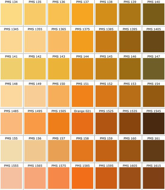Pantone Color Chart Template Pantone Color Chart Templates Free