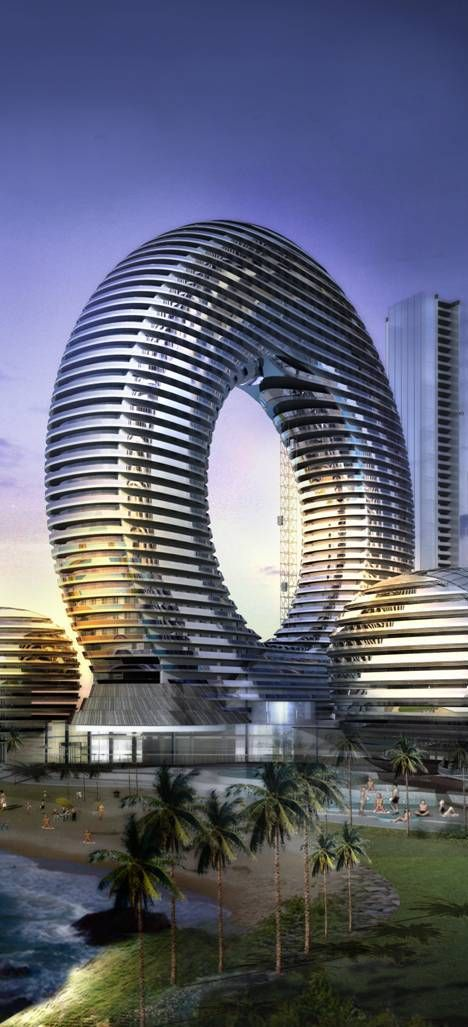 Dubai Architecture Buildings Of The United Arab Emirates Icon Hotel Promenade UAE By Atkins Vision
