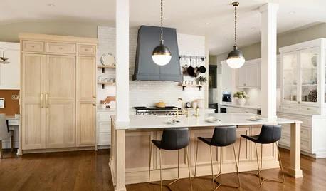 Kitchen Design On Houzz Tips From The Experts V 2020 G Dizajn Kuhon Pereplanirovka Kuhni Dvuhcvetnaya Kuhnya