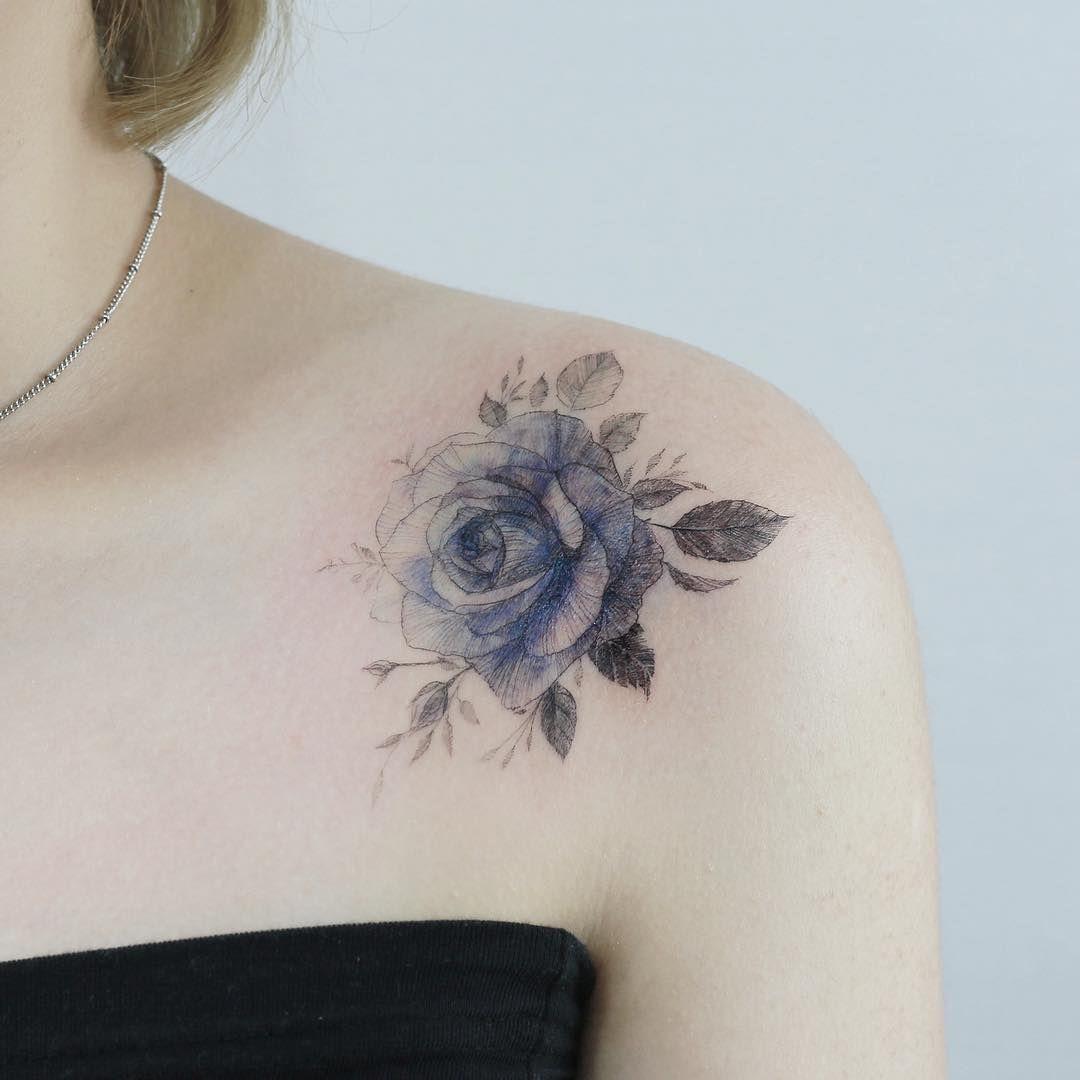 Photo of 46 magnifiques tatouages de fleurs pour égayer votre corps (BodyArt!) – Page 31 sur 40 – TattoFit.Com Best Blog Blog!
