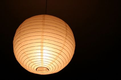 Paper Mache String Balloon hpw to make these | Images of Paper Lanterns Ceiling Light