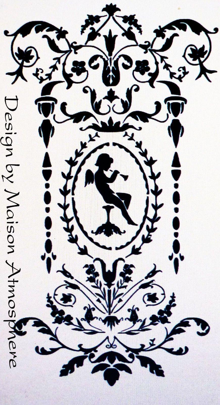 Shabby Vintage Schablone Stencil 287 Verschiedene Schriftzuge Eur 3 00 Jugendstil Shabby Vintage Schablonen
