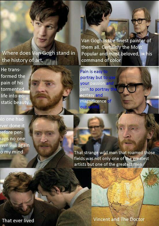 Where Real Men Cried Doctor Who Vincent And The Doctor Doctor