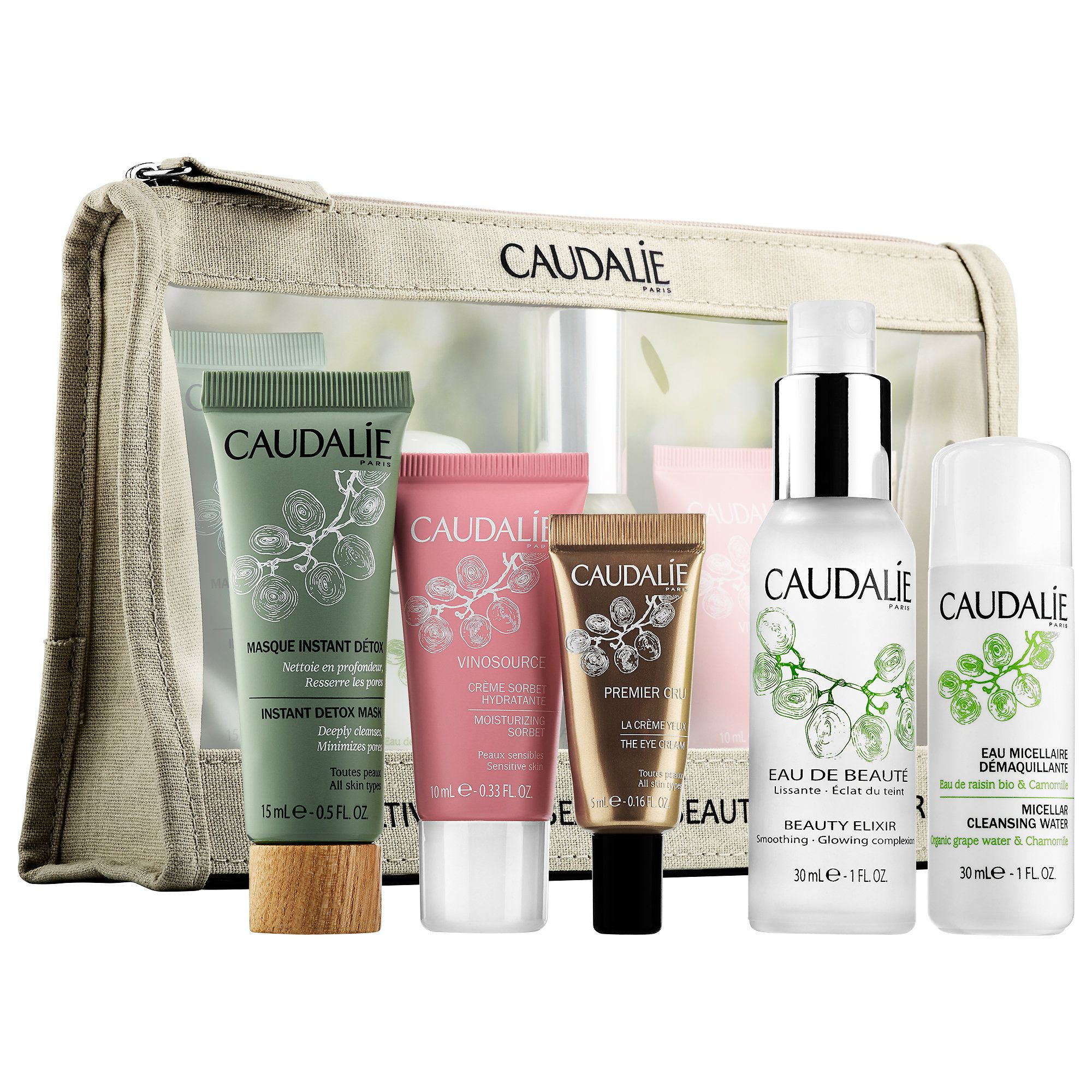 Shop Caudalie's Favorites Set at Sephora. This set of
