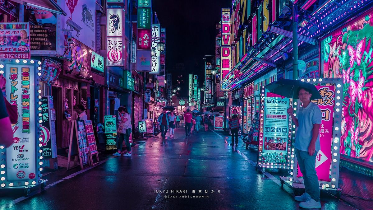 Photographer Immortalizes Vibrant Neon Streets Of Hong Kong And Tokyo Tokyo Photography Neon Photography Neon Wallpaper