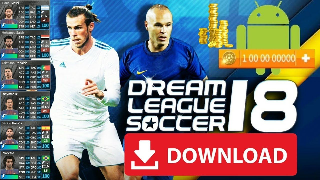 DLS 18 Mod Apk Full Money 100% All Players Unlocked Download