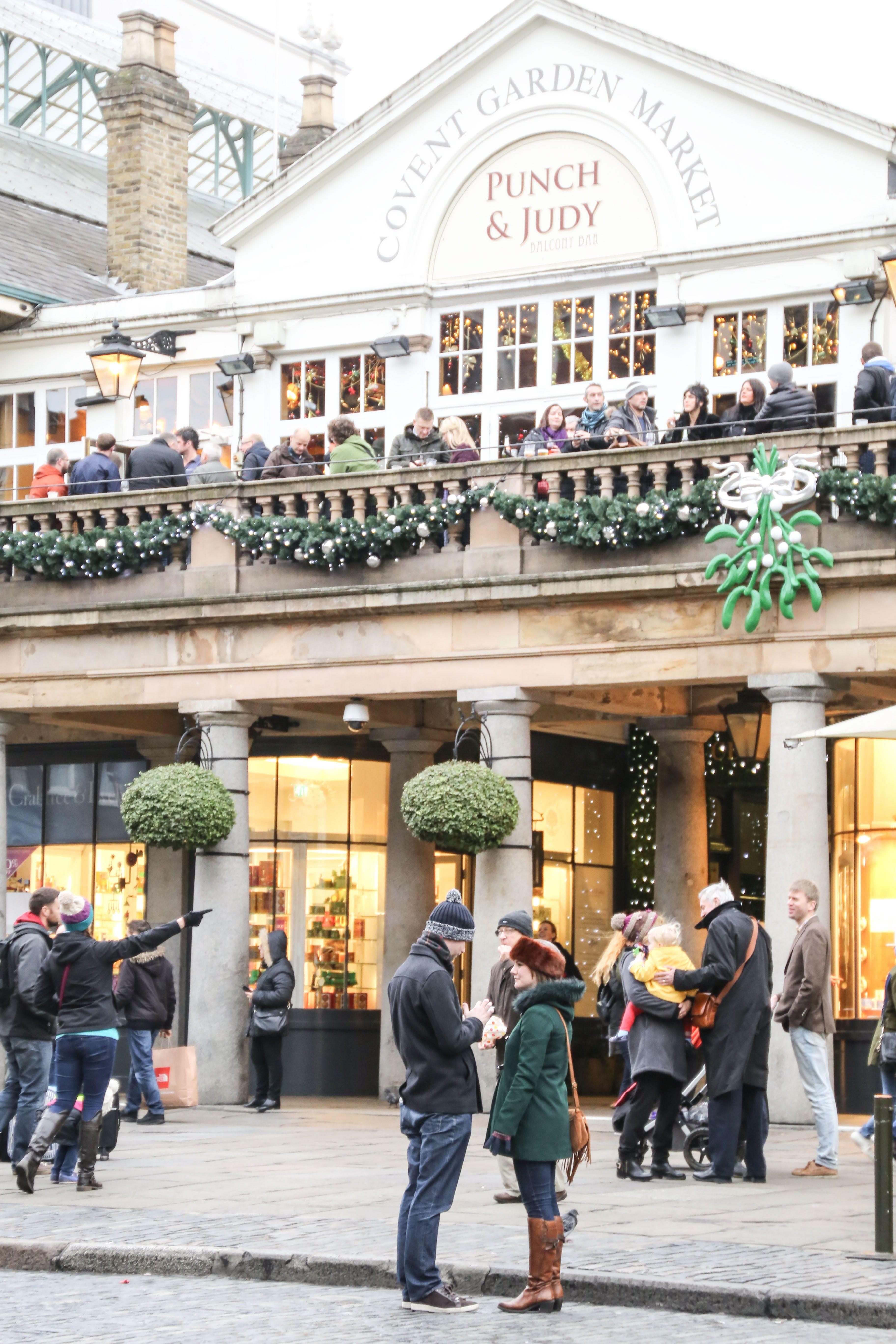 Viist Covent Garden at Christmas /JessOnThames London