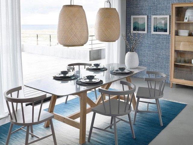 la d co bord de mer revisit e salle manger pinterest bord deco bord de mer et manger. Black Bedroom Furniture Sets. Home Design Ideas