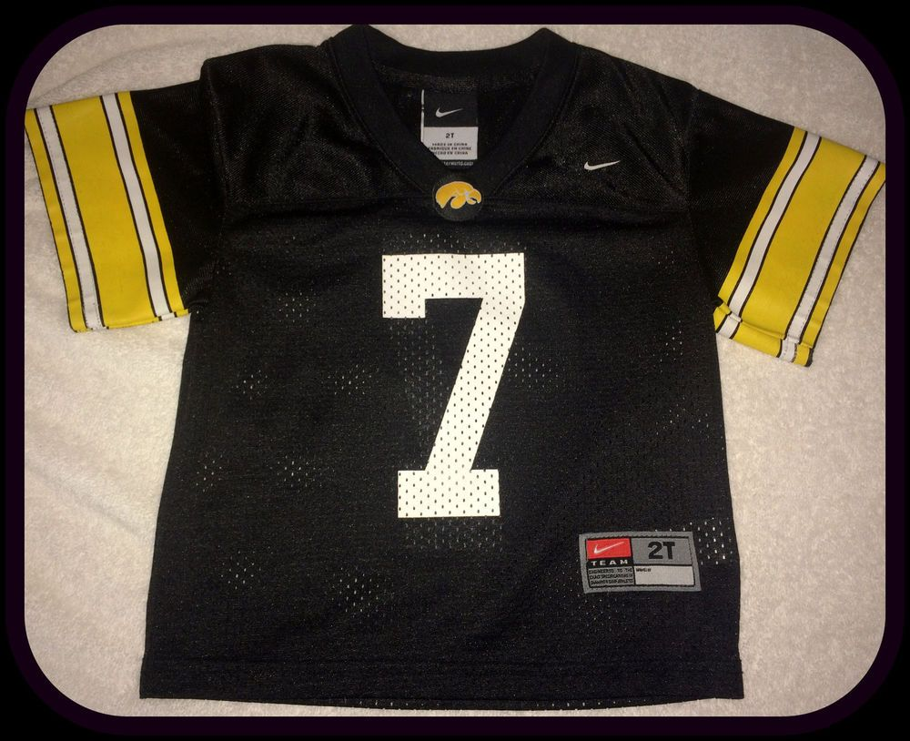 IOWA HAWKEYES NIKE TEAM KIDS 2T FOOTBALL JERSEY FREE SHIPPING  Nike   IowaHawkeyes Iowa Hawkeyes 06e8511df