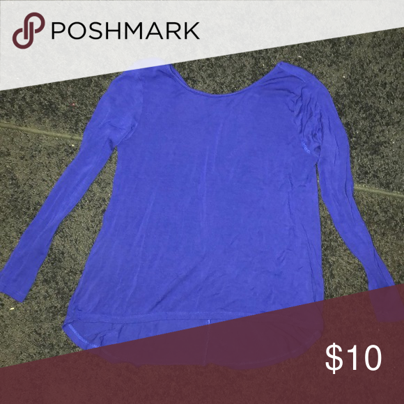 874131a3a0d1fc Girls royal blue shirt Girls long sleeved royal blue shirt (6 7) Old Navy  Shirts   Tops Tees - Long Sleeve