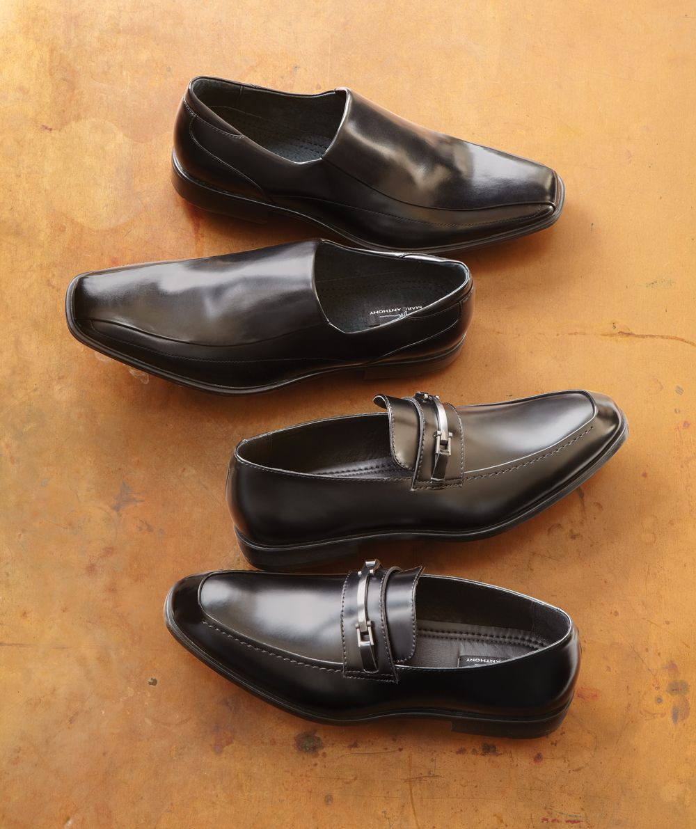 re wearing sleek dress shoes. #Kohls