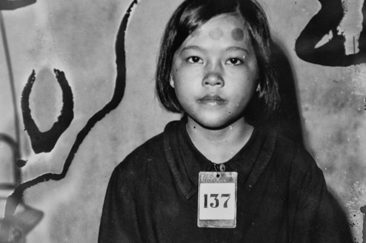 Child Victim of the Khmer Rouge: Rooms of the Tuol Sleng ...