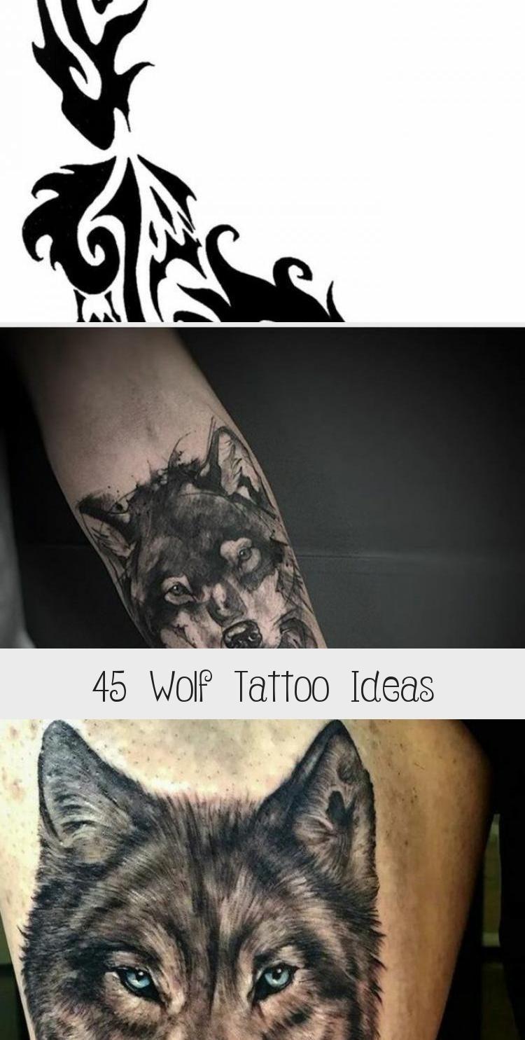 45 Wolf Tattoo Ideen  Tattoos und Körperkunst  45 Wolf Tattoo Ideen