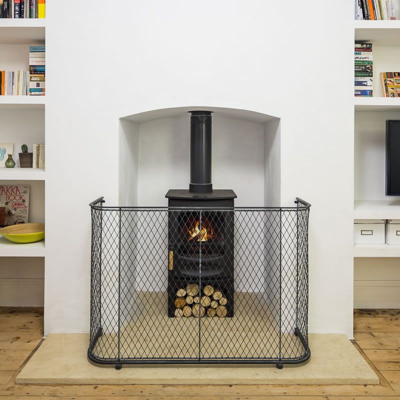 Best 25 Fireplace Guard Ideas On Pinterest Industrial