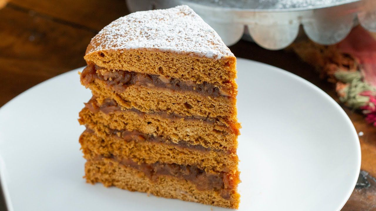 Apple Stack Cake YouTube How to stack cakes, Apple