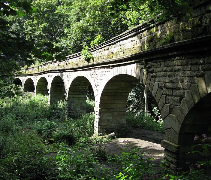 Pretty Places Leeds: Seven Arches Aqueduct (disused), Scotland Wood, Leeds, On