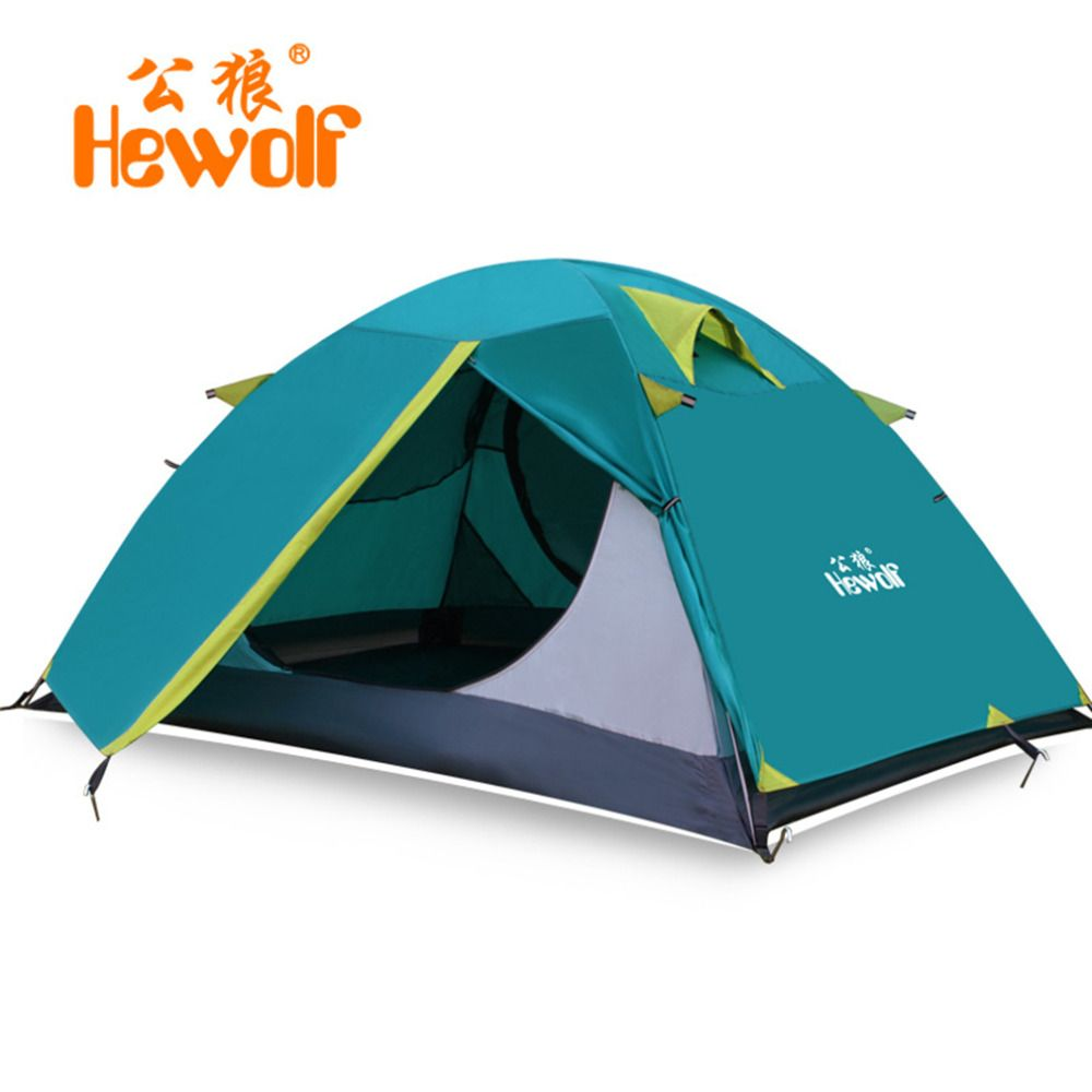 [Free Shipping] Buy Best Hewolf 2 Person Tents C&ing Tents Double  sc 1 st  Pinterest & Free Shipping] Buy Best Hewolf 2 Person Tents Camping Tents Double ...