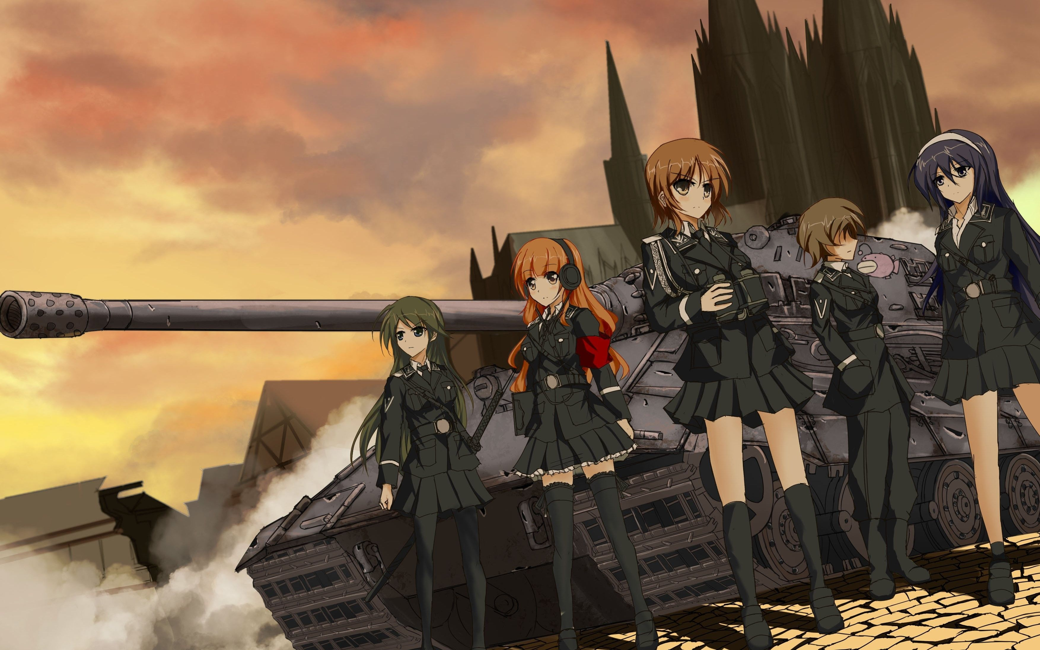 Pin On Girls Und Panzer