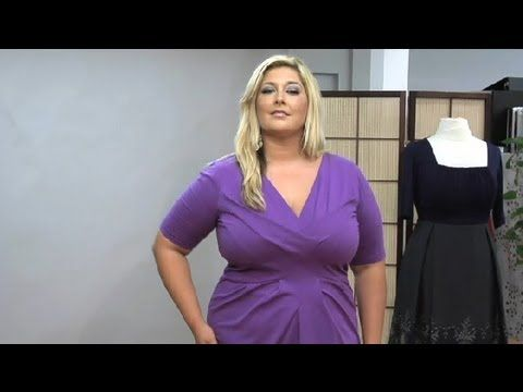 08418a2c940 How to Wear Concealing Clothing for Larger Women   Fashion for Different  Occasions - YouTube