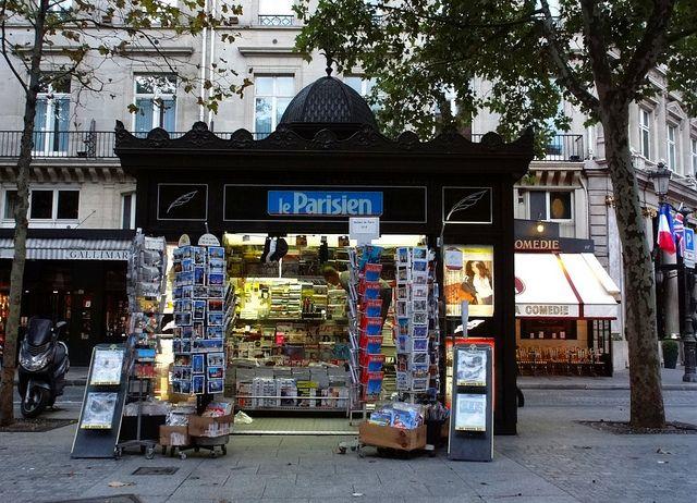 Paris Newsstand 0741 | Paris, Explore, Travel