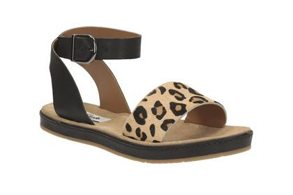 050f1f410b17 Womens Casual Sandals - Romantic Moon in Leopard Print from Clarks shoes