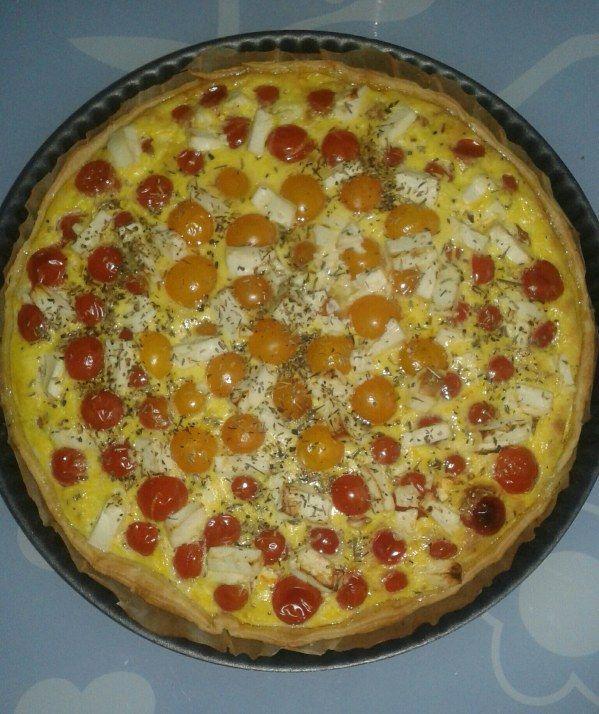 Recettes Tartes Salees Marmiton: Tarte Aux Tomates Cerises Et Feta