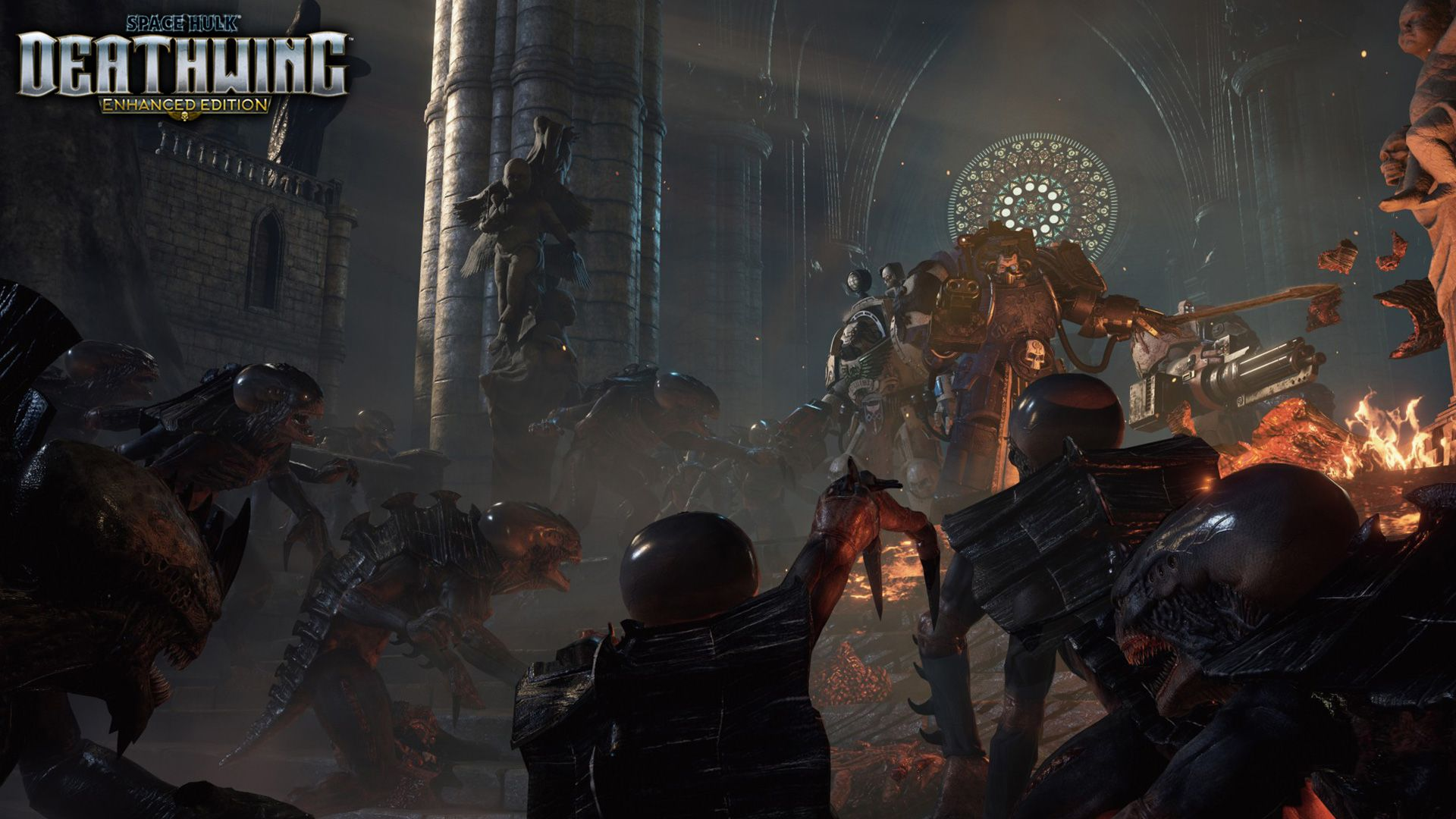Space Hulk Deathwing C Enhanced Edition Affiliate Hulk Space Deathwing Edition Space Hulk Deathwing Floral Graphic Design 3d Background