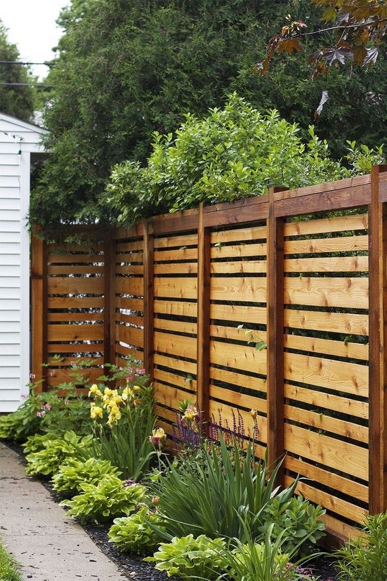 30 Good Perfect Privacy Fence Ideas Privacy Fence Designs