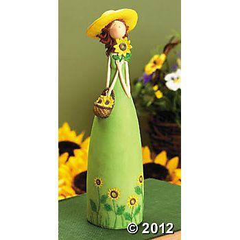 Spring Girl Figurine