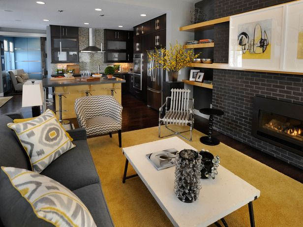 Green Home 2011: Beautiful Room Pictures. Yellow Living RoomsGray ...