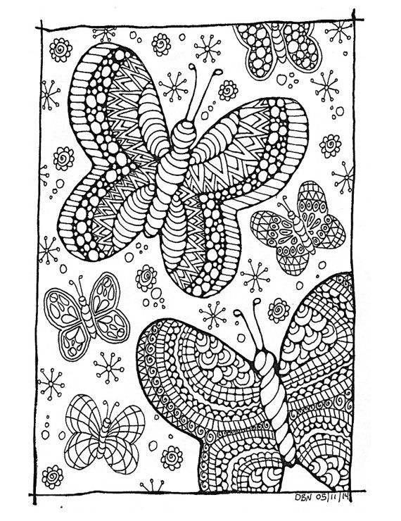 Adulting coloring pages ~ Adult Colouring Page:Original Digital by ...