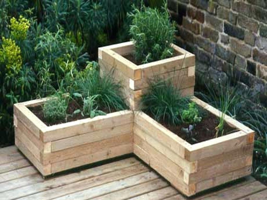 Deck rail planter boxes cedar slatted box wood bracket deck and