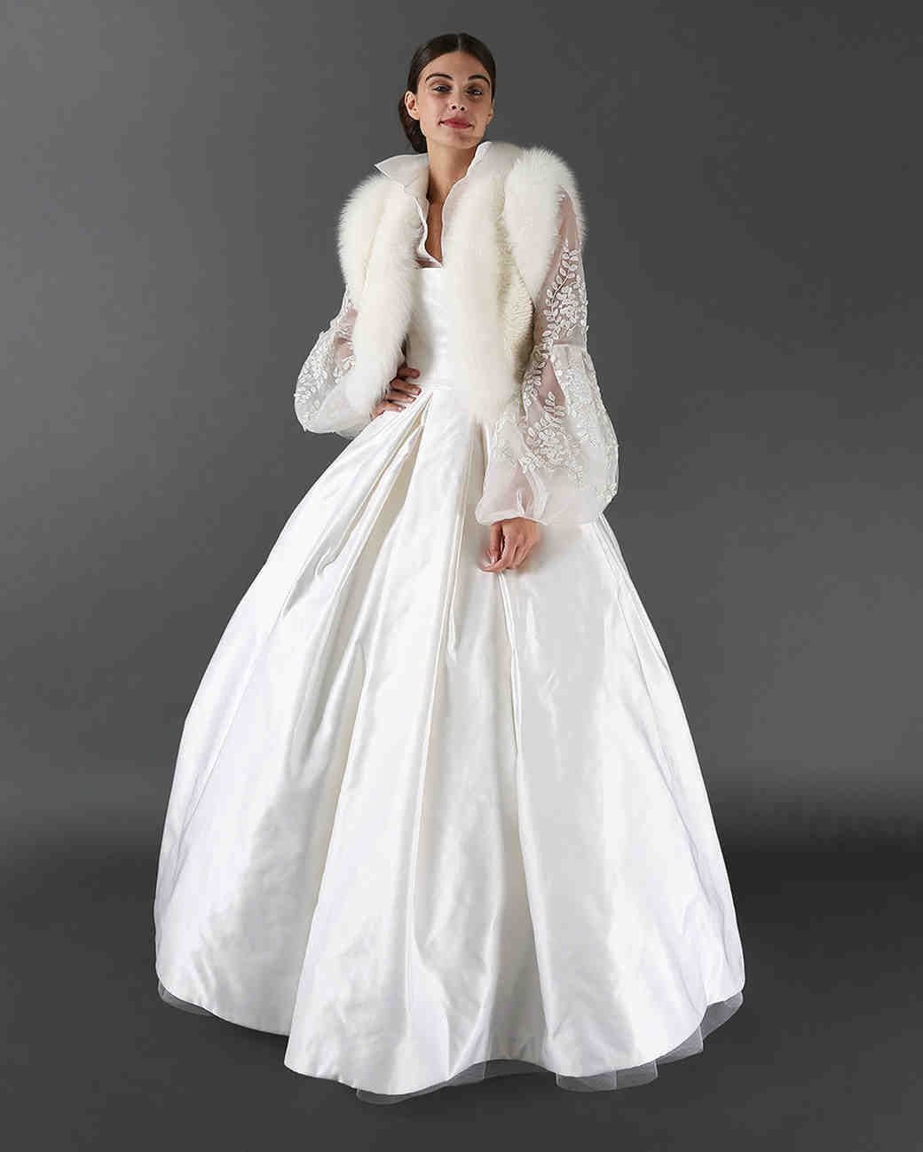 Randi rahm fall wedding dress collection martha stewart