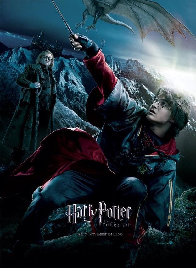 Harry And Moody The Goblet Of Fire Harry Potter Bakgrund Popkultur Harry Potter