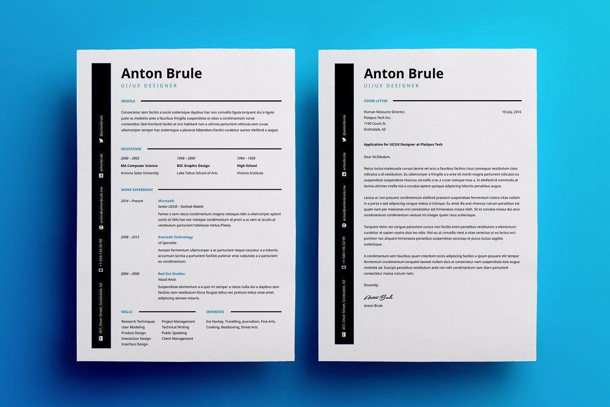 Anton Brule Resume Template , #sponsored, #resume#job#interviews#Tired #affiliate