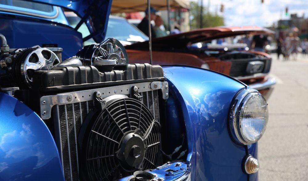 1948 Austin A40 of England, Hot Rod Car Show Hot rods