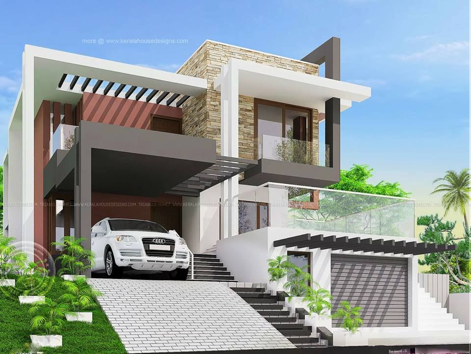 modern residential conceptual design architecture sbsa renderings - Conceptual Design House
