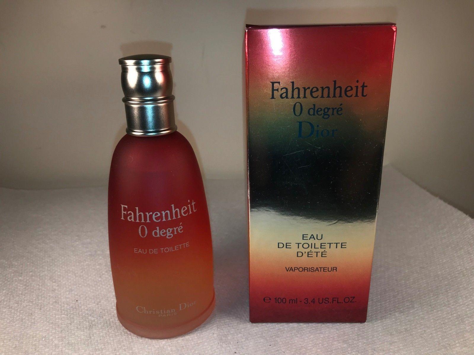 Christian Dior Fahrenheit 0 Degree Summer Fragrance 3 4 Oz Edt Spray Read Desc 9 99 Fragrance Dior Rose Wine Bottle Wine Bottle Bottle
