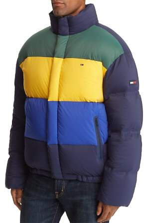 d0f84e5d Tommy Jeans Oversized Color-Block Puffer Jacket | Products ...