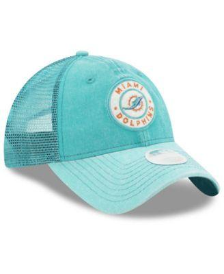 size 40 46f0c 938fd ... shop new era womens miami dolphins perfect patch 9twenty snapback cap  blue adjustable snapback cap snapback