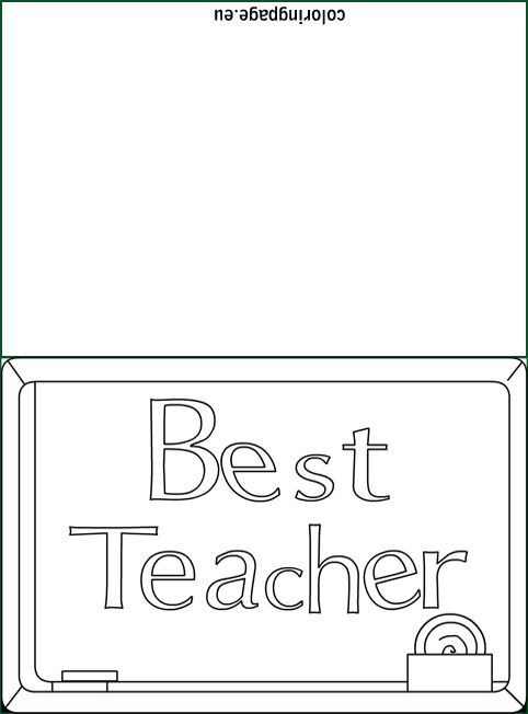 Best Teacher Ever Coloring Pages Free Printable Coloring Pages