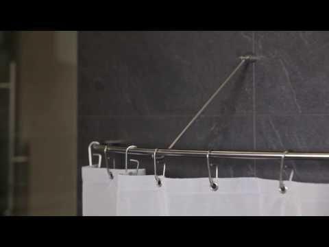 Duschvorhang Nach Maß : gerade duschvorhangstange f r nische und individuell nach ma duschvorhangstange duschvorhang ~ Watch28wear.com Haus und Dekorationen
