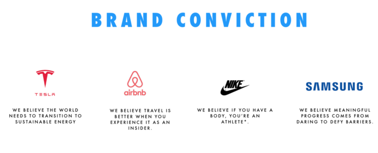 Obsess Over Your Brand Conviction Not Brand Purpose