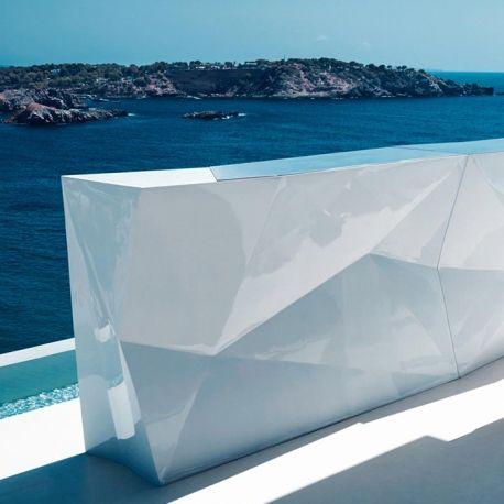 comptoir de bar original et design faz par vondom bar. Black Bedroom Furniture Sets. Home Design Ideas