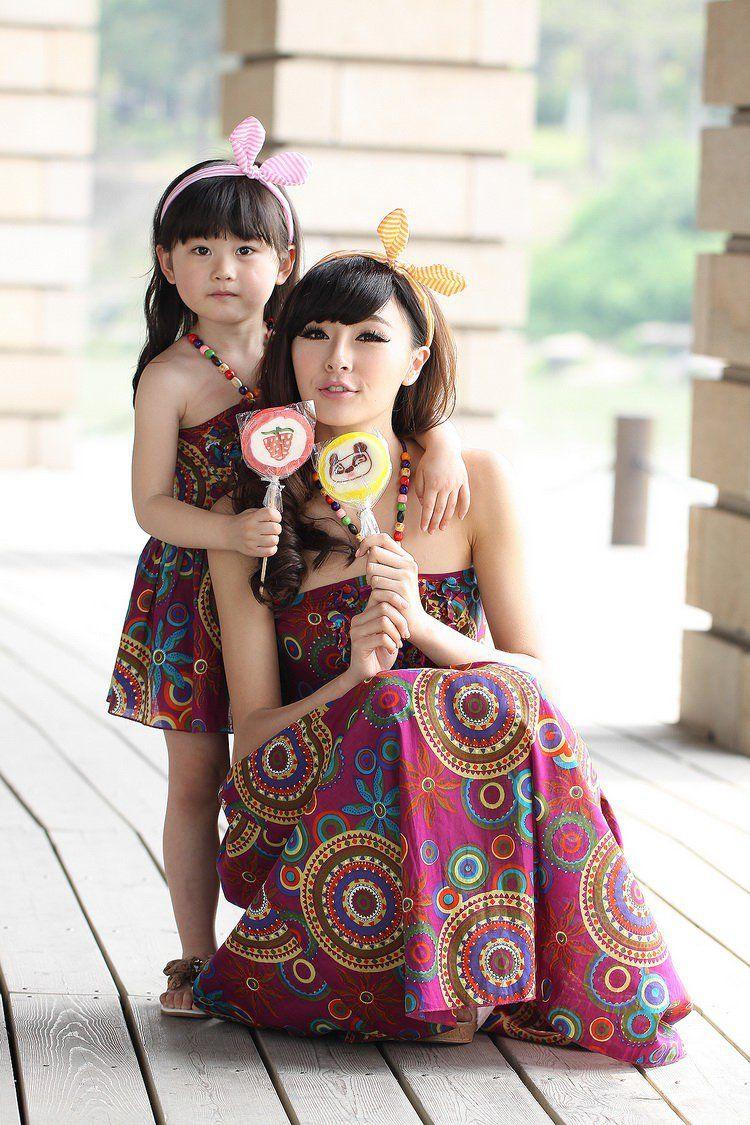 447b96ecf8231 Mode pour femme et pour sa fillette qui aiment s habiller pareil ...