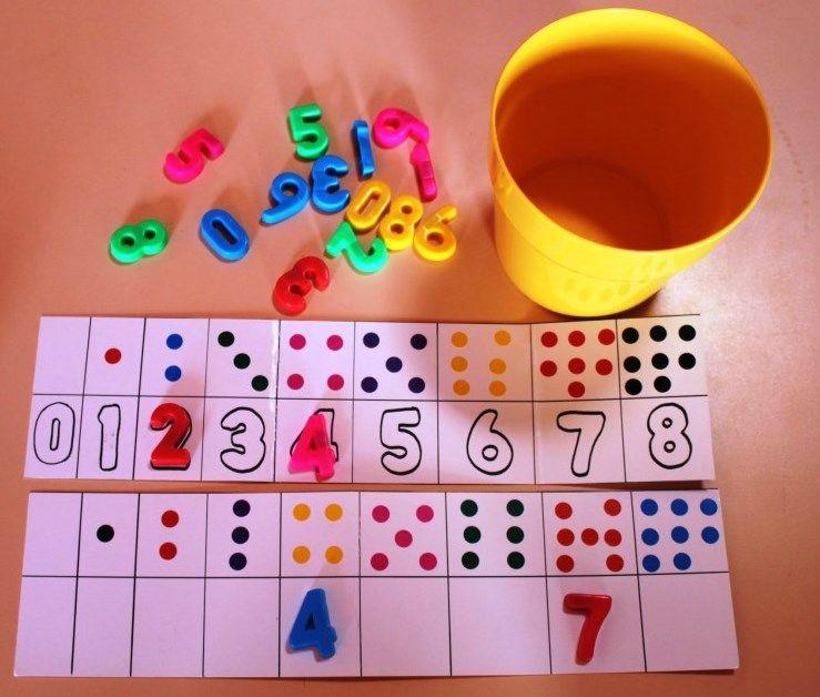 Les caches-pots ateliers de manipulations autonomes - La maternelle de Vivi