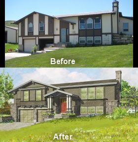 spelndid remodel ideas for split level homes. split foyer exterior ideas  entry more level reno dream